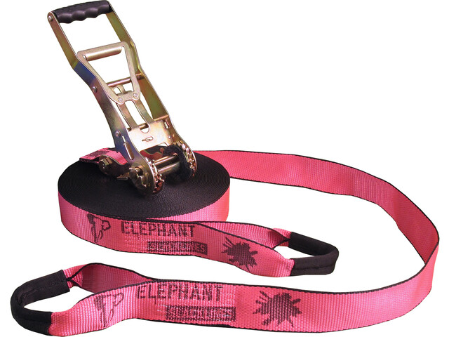 Elephant Slacklines Addict Slacklines Flash'line-Set, pink